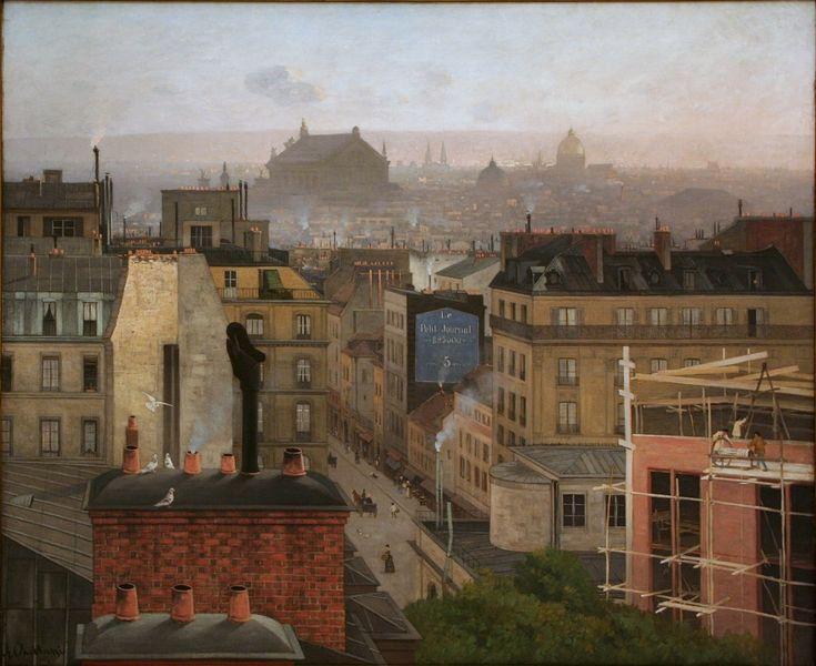 Montmart,Paříž, Antonín Chittussi