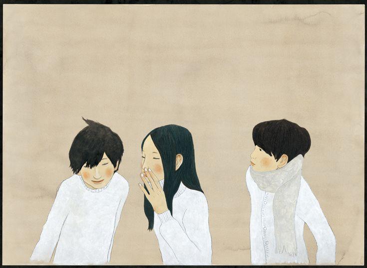 "by 松本大洋 (Taiyo Matsumoto) - Cover of ""ボールのようなことば。(Toss around these wards)"""