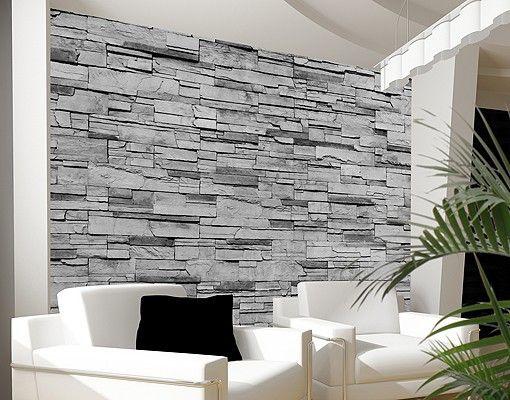 Selbstklebende Tapete Grau : Pinterest Tapete In Steinoptik, Steinoptik und Tapete Steinoptik