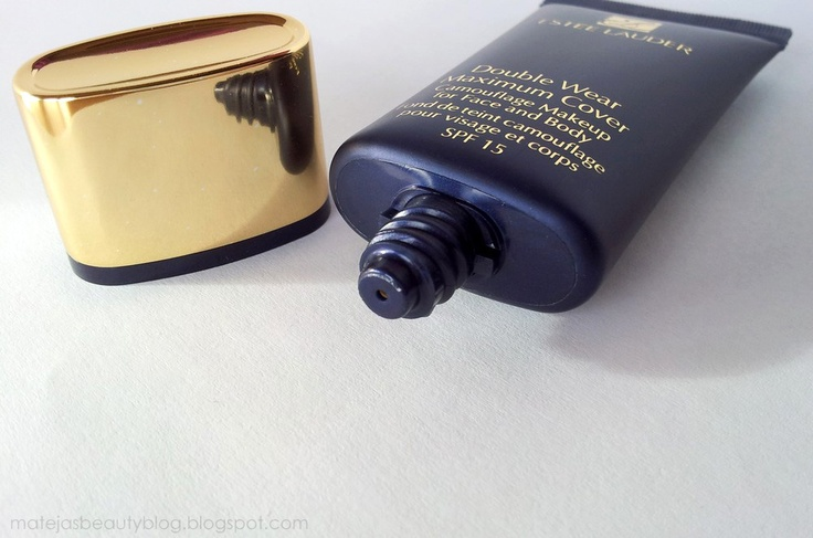 Estee Lauder Double Wear Maximum Cover // Mateja's Beauty Blog