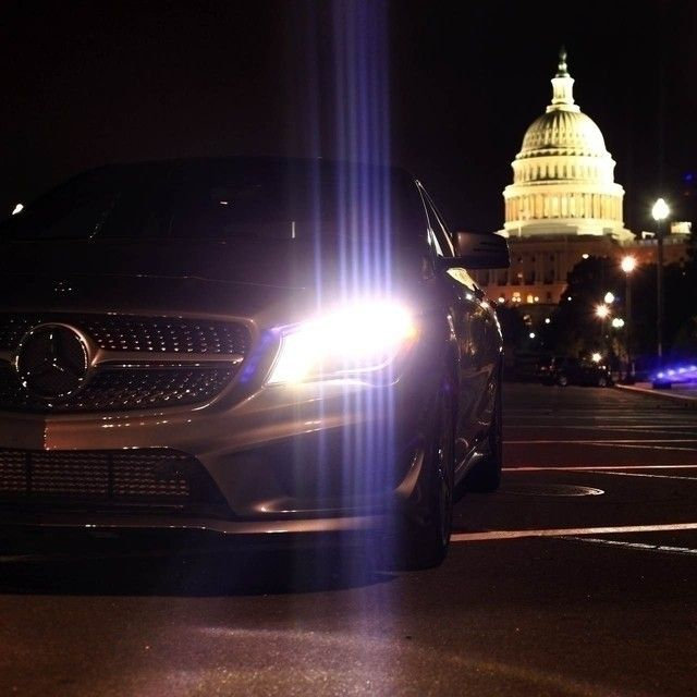 Hail to the Chief.  #Mercedes #Benz #CLA250 #CLA #HouseOfCards…