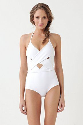 Sometimes I think I like one-pieces infinitely more than two...