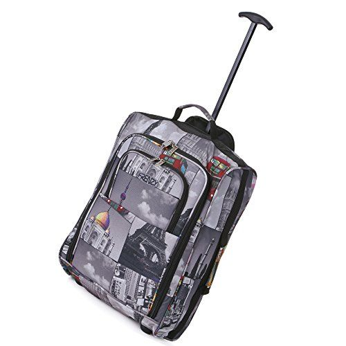 http://bagbagages.com/frenzy5cities-55cm50cm-leger-chariot-a-main-bagages-sac-approuve-ryanair-et-easyjet-2-roues-cabine-bagage-a-main-conseil-3342l-voyage-valise-sac-avec-cadenas-1-piece-cities-50cm · Frenzy/5Cities 55cm/50cm léger chariot à main Bagages Sac – Approuvé Ryanair et Easyjet 2 roues cabine bagage à main Conseil. 33/42L Voyage Valise Sac avec cadenas (1 Pièce, Cities (50cm))·