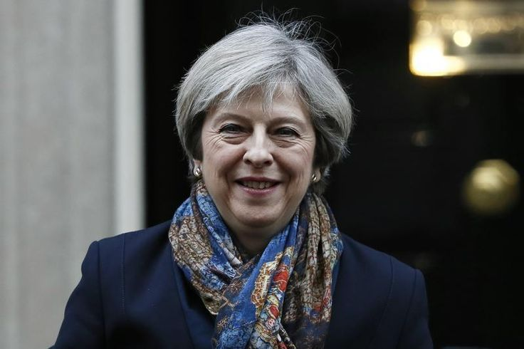 #world #news  UK, U.S. should look at removing trade barriers before Brexit: PM May