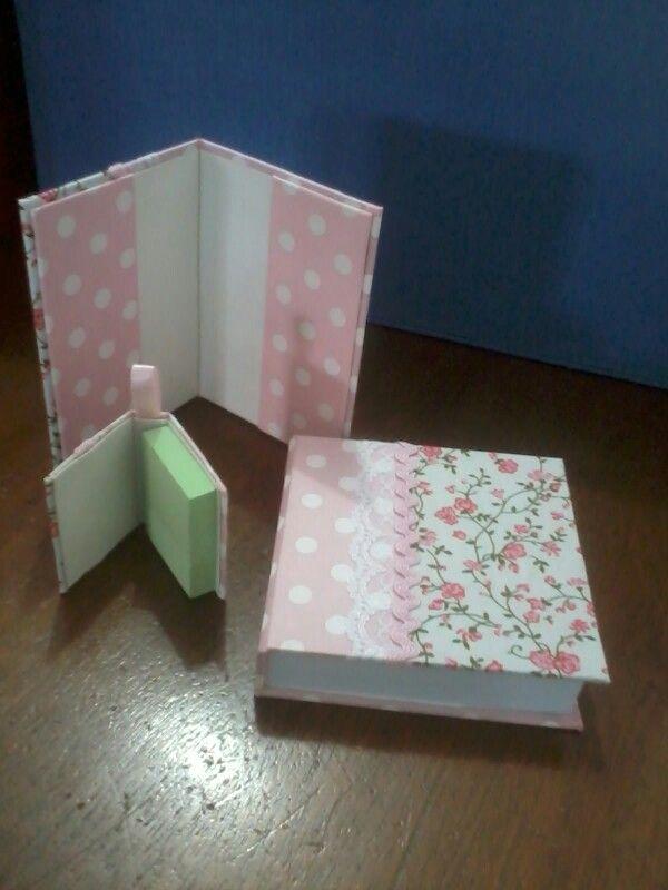 Porta cartão, bloco 10x10 e lepost'it personalizados