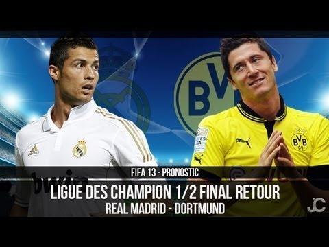 FOOTBALL -  FIFA 13 - Real Madrid - Borussia Dortmund / Demi Finale Ligue des Champions / Pronostic - http://lefootball.fr/fifa-13-real-madrid-borussia-dortmund-demi-finale-ligue-des-champions-pronostic/