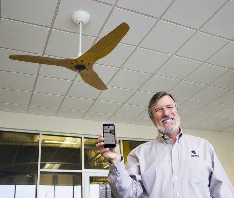 This New Ceiling Fan Design Solves A Problem That All Ceiling Fans Have Had Since 1882  Read more: http://www.businessinsider.com/haiku-smart-ceiling-fan-2014-6#ixzz34o5wzLX4