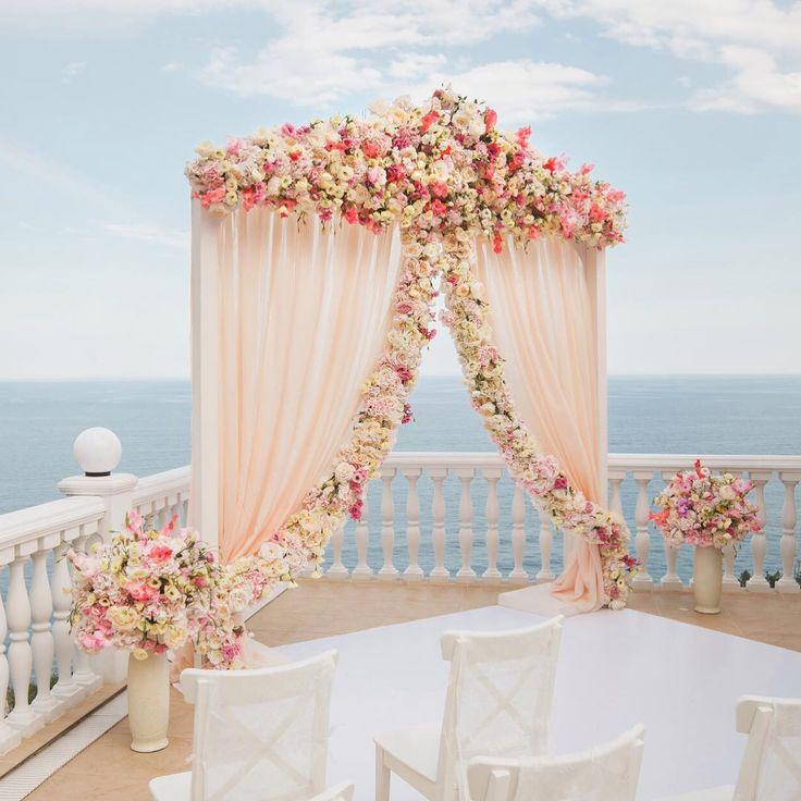 beach wedding decor - decoração de casamento na praia