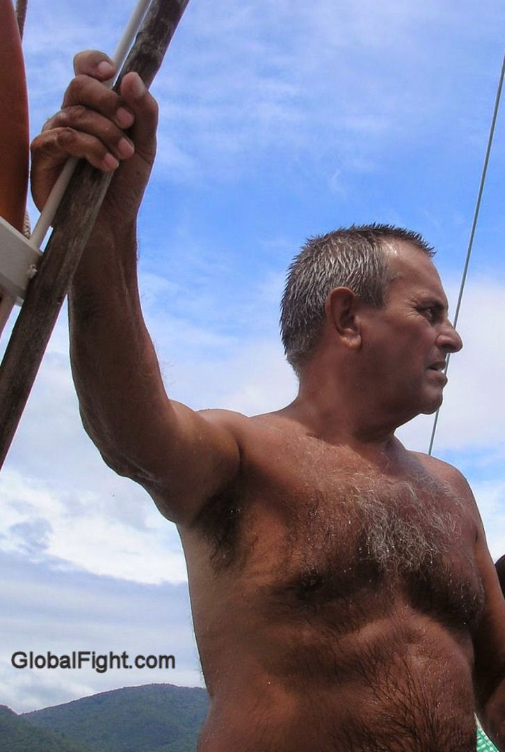 silver chest hair gallery