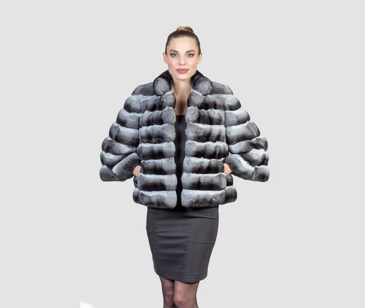 #chinchilla #real #fur #coat #jacket #style #fashion #classy #clothing #top #best #long #sleeves #loose #rich #elegant #outfit