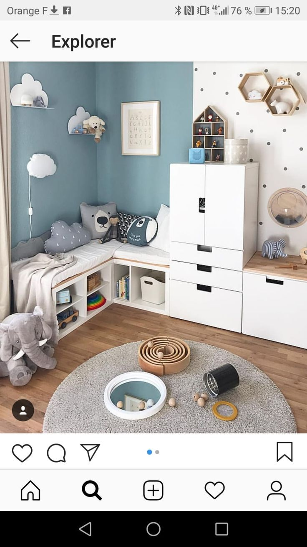 Duel Color Babyzimmer Farben Babyzimmer Design