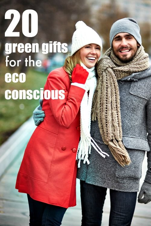I love all of these eco friendly ideas; they will be perfect gifts for my sister in law and my cousin. So green!