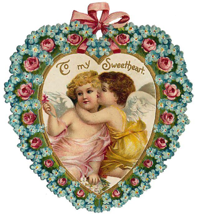 Картинки бывшему, открытки с ангелом и сердцем