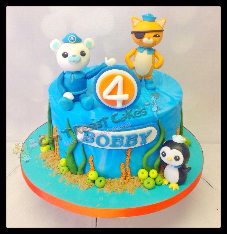 Octonauts Birthday cake for the little ones