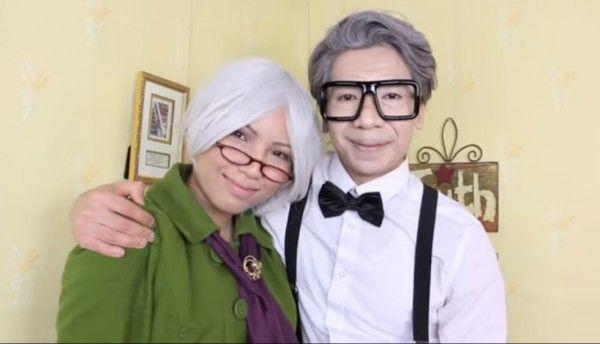 2. Ellie en Carl uit 'Up' - 9 x halloweenkostuums voor jou en je lief  - Nieuws - Lifestyle