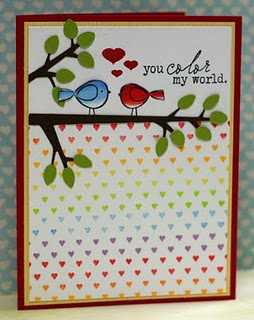"""Designed by Kristii Lockart    use the branch die I never know what to do with.   Don't make card so """"cutsie"""""""