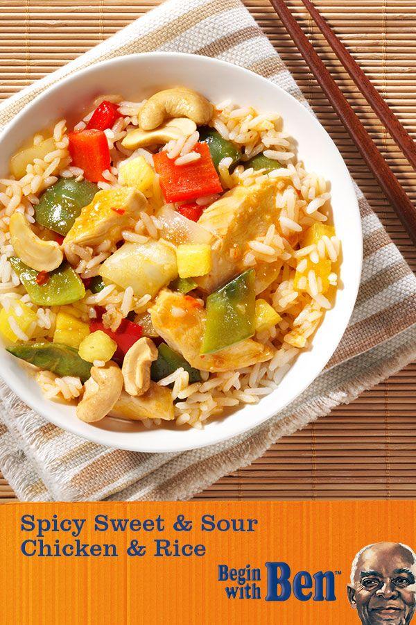 UNCLE BEN'S® Spicy Sweet & Sour Chicken & Rice