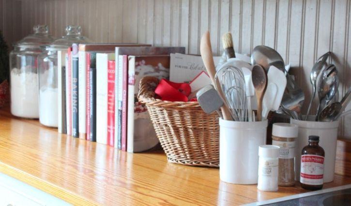 Idea for decorate a kitchen.