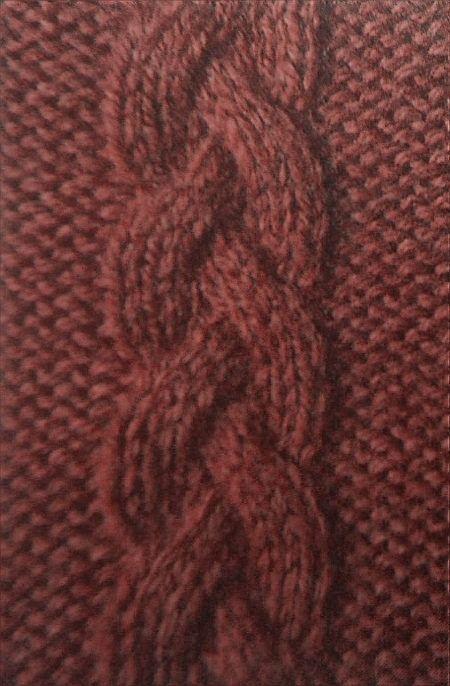Zopfmuster gehören zu den klassischen und sehr beliebten Mustern bei Strickarbe