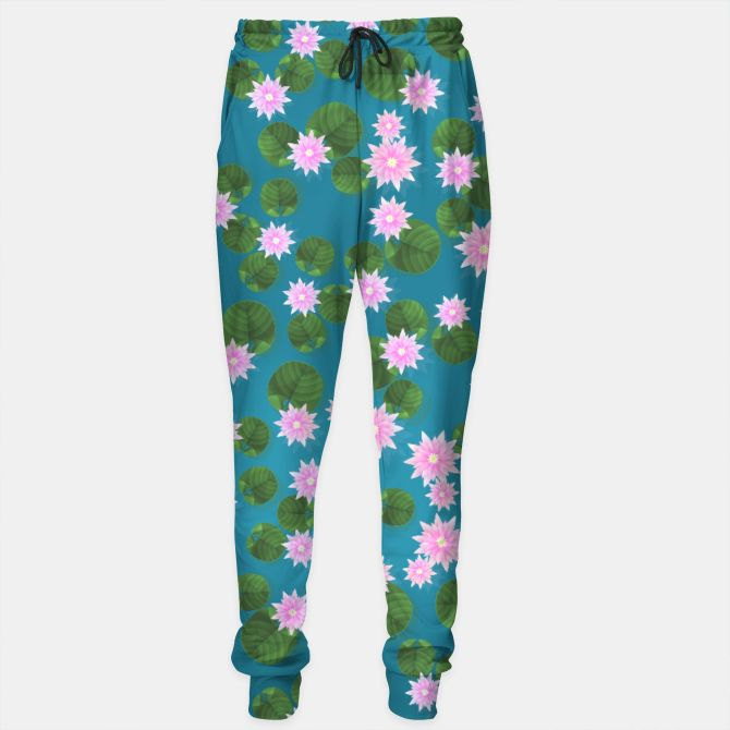 Water Lily Sweatpants, Live Heroes