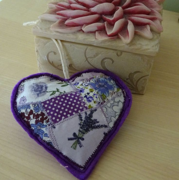 A personal favourite from my Etsy shop https://www.etsy.com/uk/listing/491150606/purple-hanging-heart-decoration-gift-for