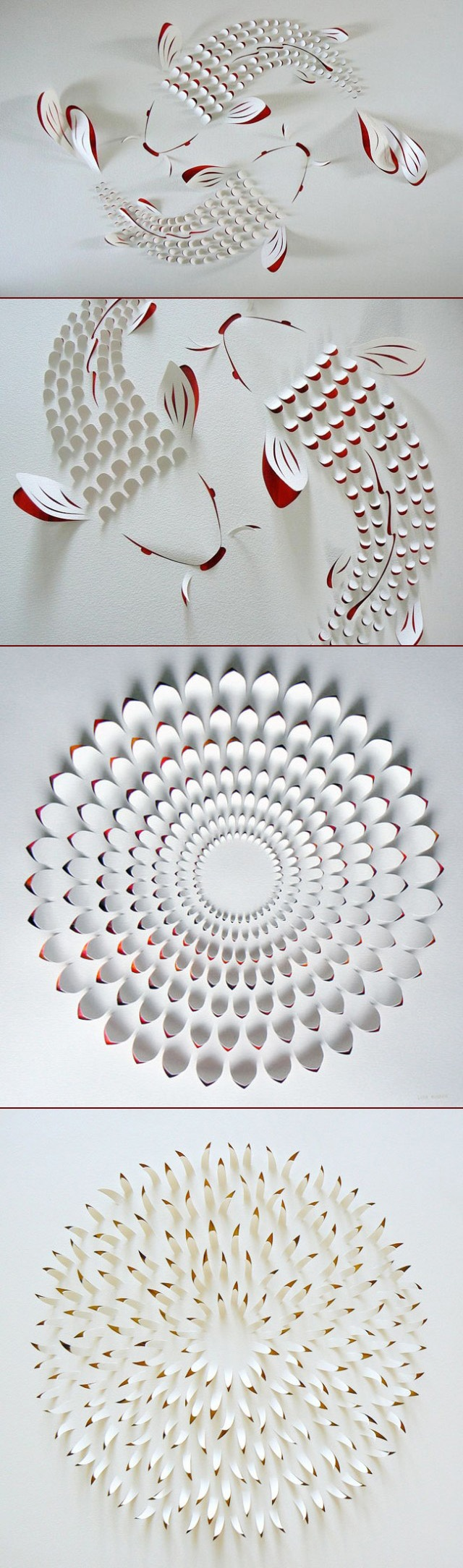 Hand Cut Paper Art - australiana Lisa Rodden,