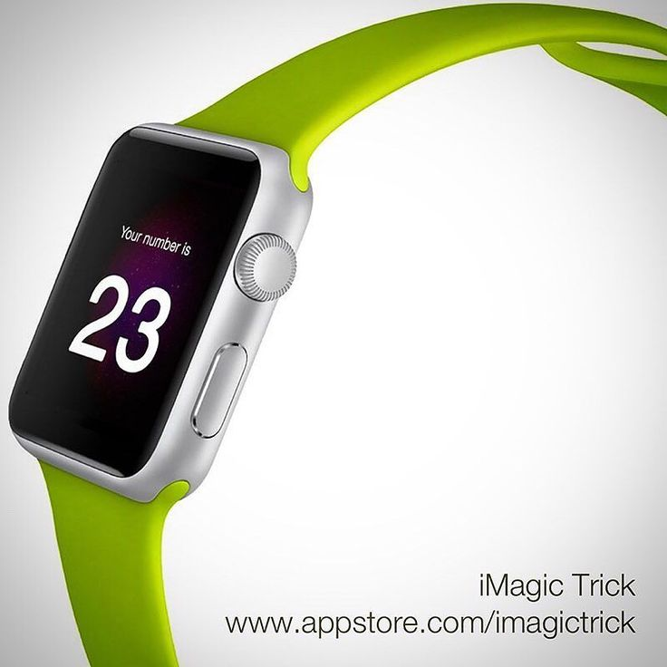 iMagic Trick is available for the iPhone iPad and Apple Watch.  Perform the trick on your iPhone and reveal the magic number on your Watch.   Check it out: www.appstore.com/imagictrick  #magic #app #iphone #trick #applewatch #apple #apps #apple_watch #magical #magictrick #imagictrick #watchos #watchos3 #ios #appstore #wpplewatch2 #applewatchseries2 #applewatchfans #iphone6 #iphone6s #iphone6plus #iphone6splus #ipad #ipadair #ipadpro #appletv #applewatchedition #applewatchsport #iphone7…