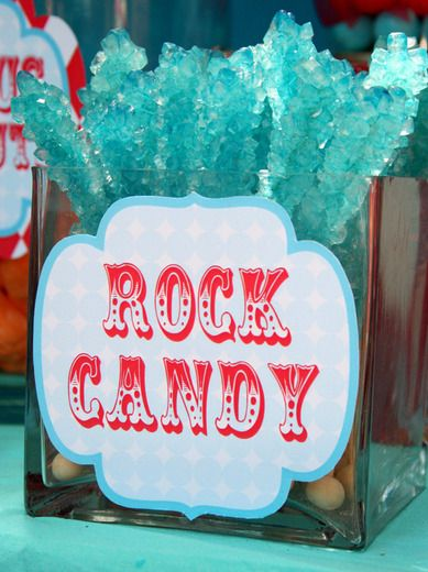 """Photo 6 of 22: Circus/Carnival / Birthday """"Circus Carnival Birthday Party Candy Bar""""   Catch My Party"""