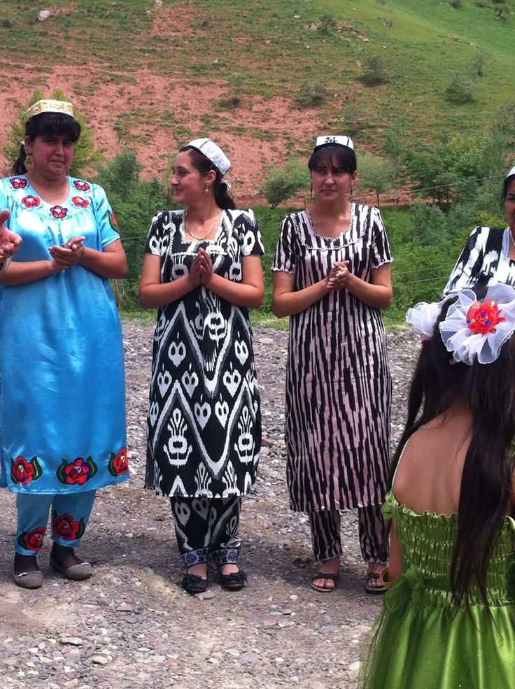 Girls in Tadjikistan