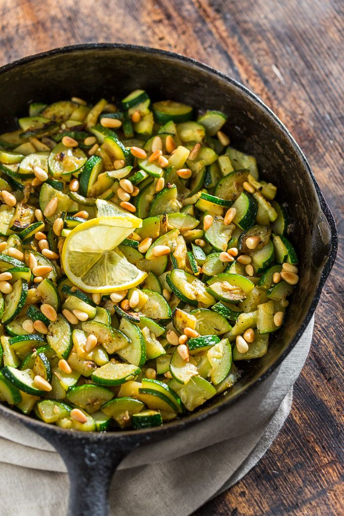 493 best get inspired everyday food recipes images on pinterest easy sauted lemon herb zucchini forumfinder Gallery