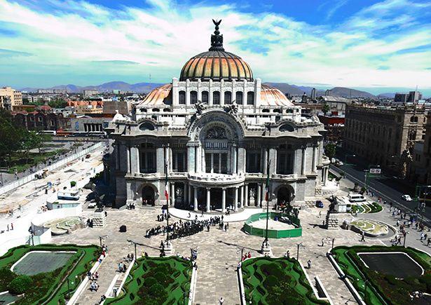 Cinco edificios históricos en la Ciudad de México