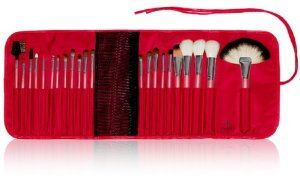 SHANY Cosmetics NY Collection Pro Brush Kit, 13 Ounce (22 Piece Natural ZGF Goat or Sable Bristles with Red Cotton Pouch) by SHANY Cosmetics. $119.95. 22 piece natural ZGF goat hair; Best bristles available in market; Mix of soft and firm hairs for who loves to use both; Red cotton pouch. NY collection by Shany cosmetics , all you need for a flawless look; Premium line of brush kits. Manufactured in a factory that makes high end brand; 30 days risk free trials; Try them once ...