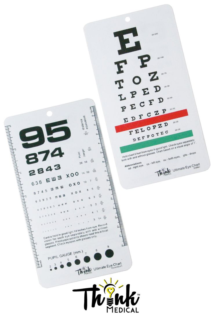 126 best tools of the trade images on pinterest stethoscope pocket eye chart ultimate rosenbaumsnellen pocket size eye chart nvjuhfo Image collections