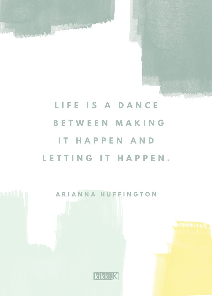 We love this quote by Arianna Huffington. Let it inspire you to live in the moment and make time for all of your dreams and goals. Tag someone to inspire them.