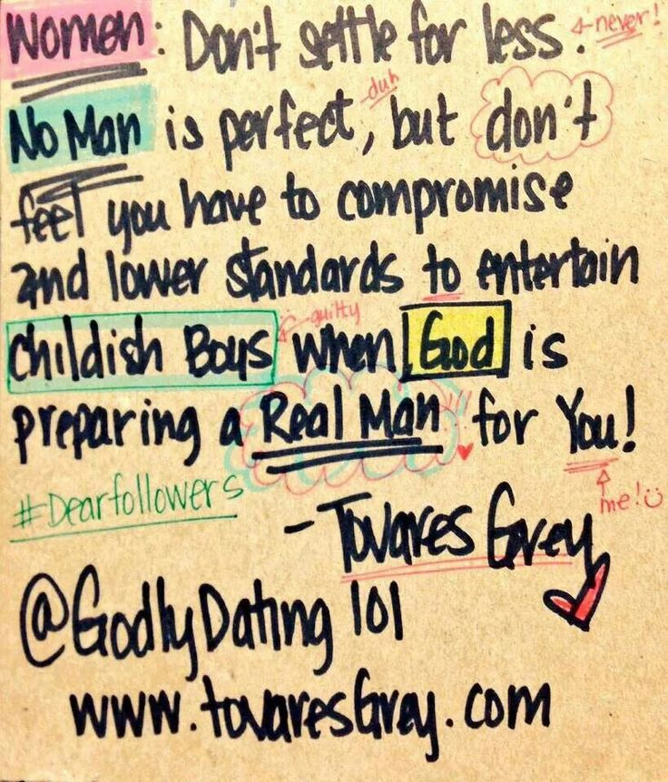Godly standards for dating 5