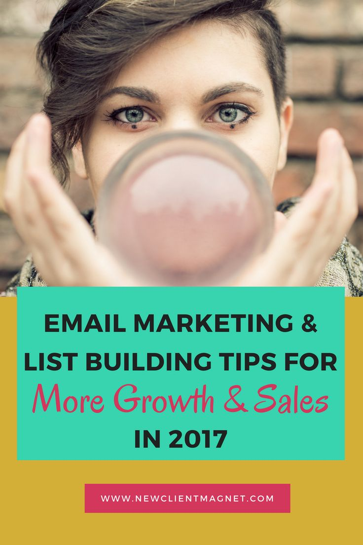 Email Marketing & List Building Tips for More Growth & Sales in 2017 // Semonna McNeil - New Client Magnet