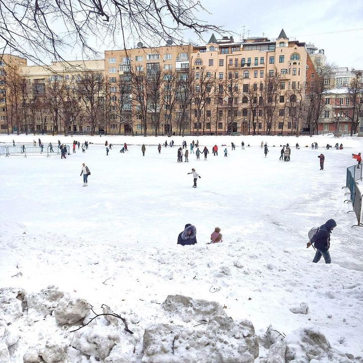 Patriarch Ponds, moscow, russia