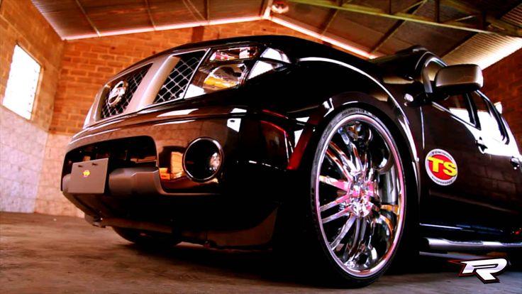 """Nissan Frontier 2013 0KM com suspensão FIXA e rodas cromadas aro 24"""""""