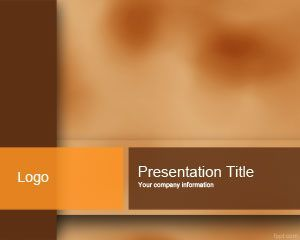 brown ppt template