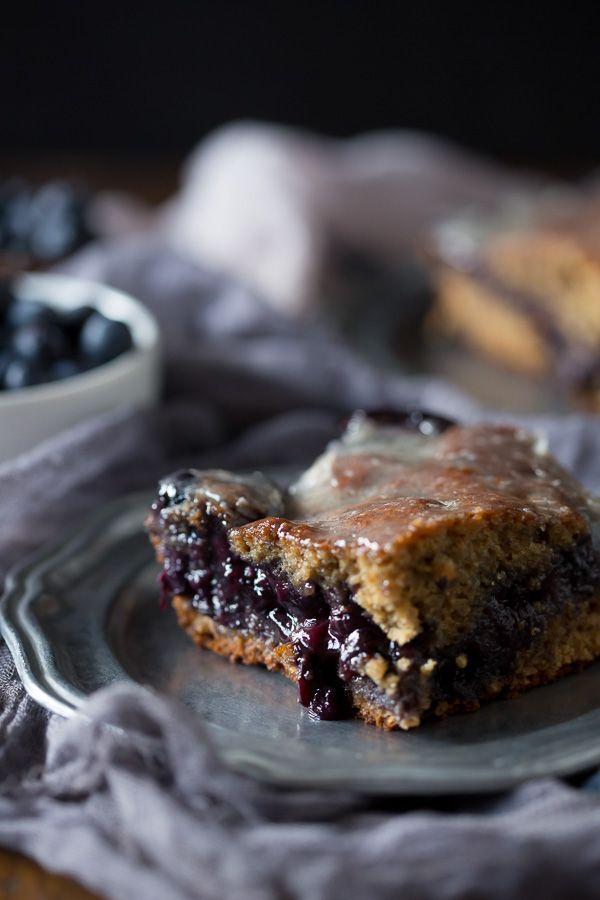 This blueberry fritter cake is the perfect way to celebrate the bounty ...