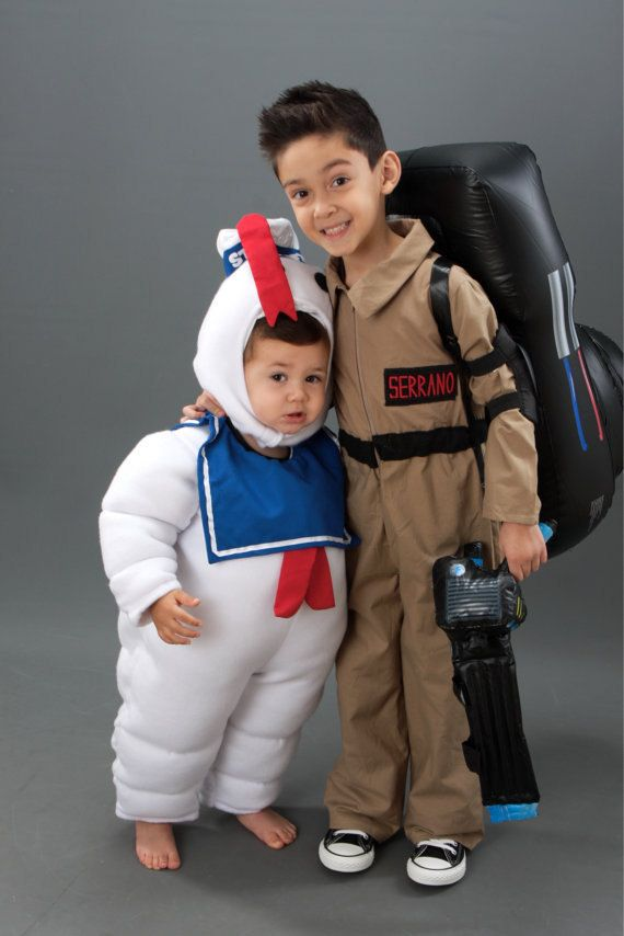 Fleece Ghostbusters Ghost Busters Stay Puft Marshmallow Man Halloween Costume Custom Made