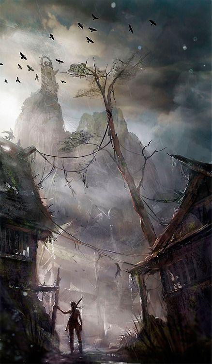 Tomb Raider Concept Art