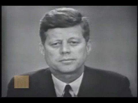 "John F. Kennedy - Address on Civil Rights - 11 June 1963, following George Wallace ""doorway stand"" at the University of Alabama"
