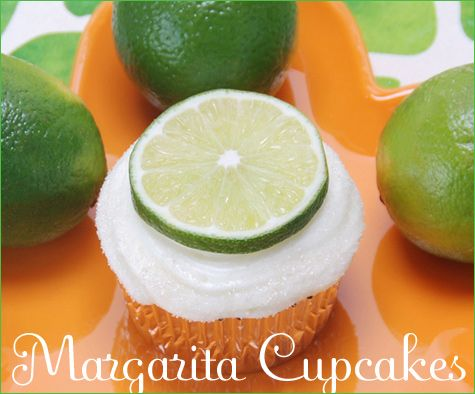 cupcake: Desserts, Ideas, Sweet, Cupcake Recipe, Food, Recipes, Margaritas, Margarita Cupcakes