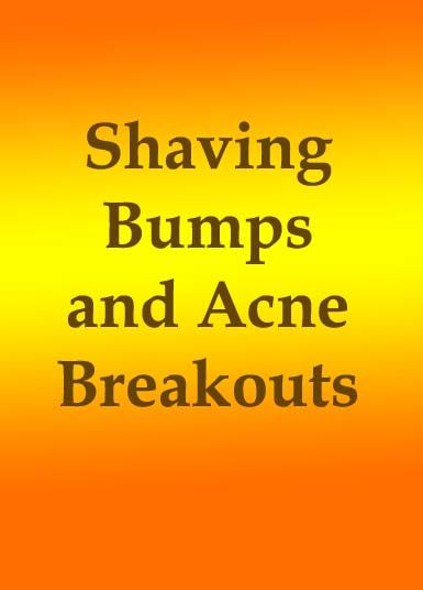 """Shaving Bumps and Acne Breakouts >>> The acne-like breakouts we know as """"shaving bumps,"""" or Pseudofolliculitis barbae, are the result of inflammation in the hair follicle brought on by shaving. As hairs begin to grow back after shaving, waxing or plucking, they get trapped inside the follicle, resulting in irritation and swelling. #acnetreatment #acnenomore #skinproblemssolution #skincare"""