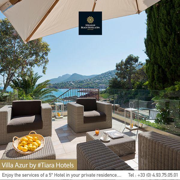 Villa Azur - Sea view villa near #Cannes. Une villa avec vue mer à quelques minutes de #Cannes.