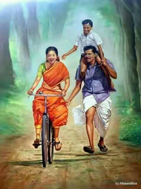 South indian family painting...........