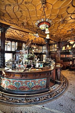 Philharmonic Pub, Liverpool,England (2012) The grandest place I've ever raised a glass.