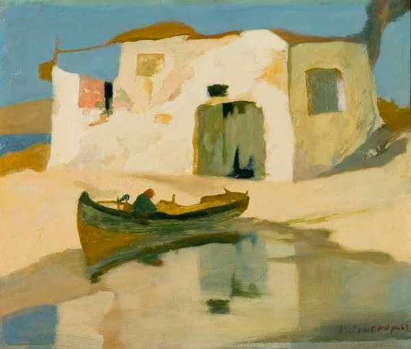 Michalis Oikonomou was a Greek impressionist painter. He was born in 1888 in Piraeus in the Attica prefecture and went to school there. His first art teacher was Konstantinos Volanakis. Wikipedia Born: 1888, Piraeus, Greece Died: 1933, Athens, Greece Period: Impressionism