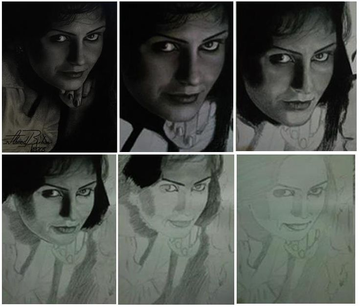 Drawing proces from start to finish by Burhan